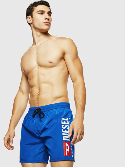 Diesel - BMBX-WAVE 2.017, Brilliant Blue - Swim shorts - Image 1
