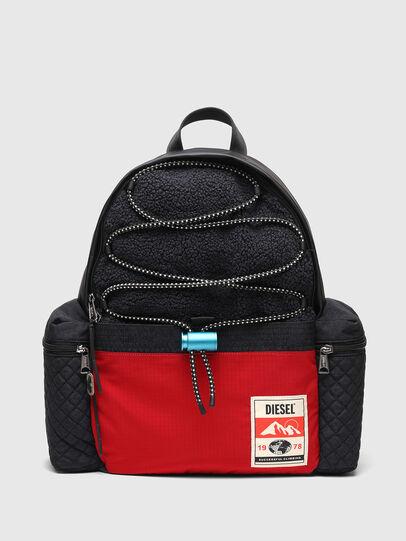 Diesel - YBEX, Black/Red - Backpacks - Image 1