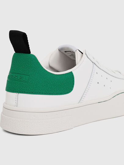 Diesel - S-CLEVER LOW, White/Green - Sneakers - Image 4