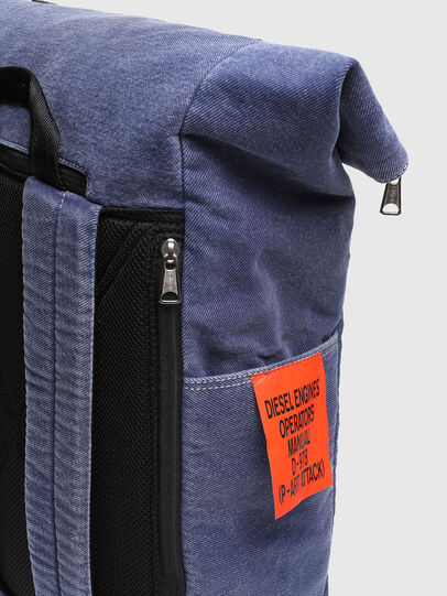 Diesel - FOLD, Blue - Backpacks - Image 5