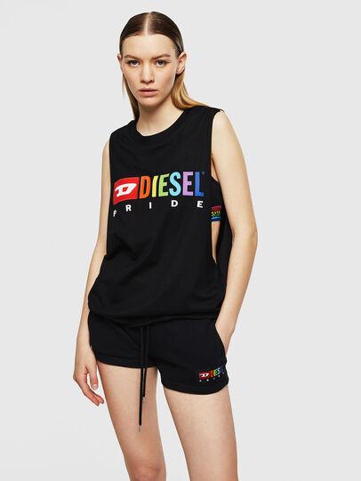 Diesel - UFTK-AVERY, Black - Tops - Image 1