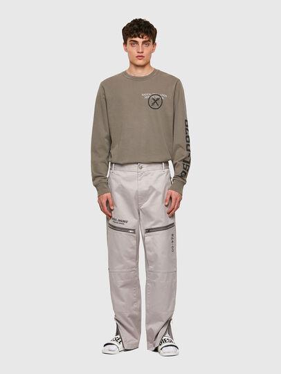 Diesel - P-AMBRIDGE-A, Light Grey - Pants - Image 6