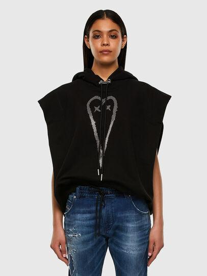 Diesel - F-ROLLER, Black - Sweaters - Image 4