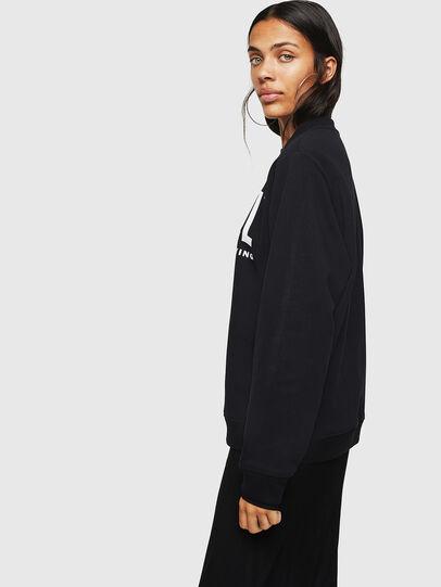 Diesel - F-ANG, Black - Sweaters - Image 6