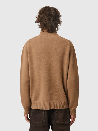 Diesel - K-FREMONT, Light Brown - Knitwear - Image 2