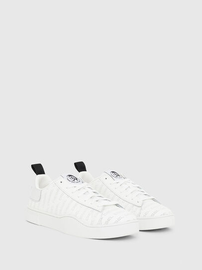 Diesel - S-CLEVER LOW LACE, White/Silver - Sneakers - Image 2