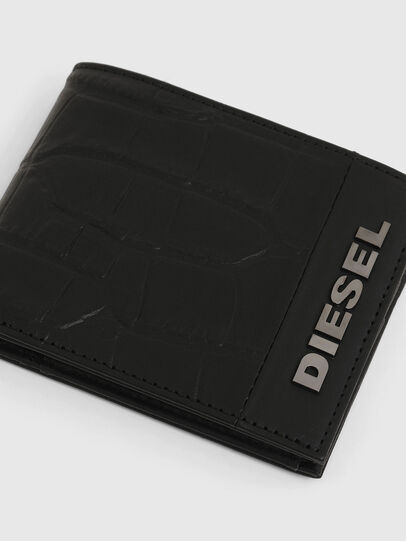 Diesel - HIRESH S, Black - Small Wallets - Image 4