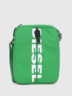 F-BOLD SMALL CROSS, Green - Crossbody Bags