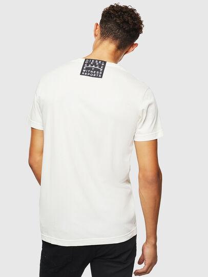 Diesel - T-DIEGO-J5, White - T-Shirts - Image 3