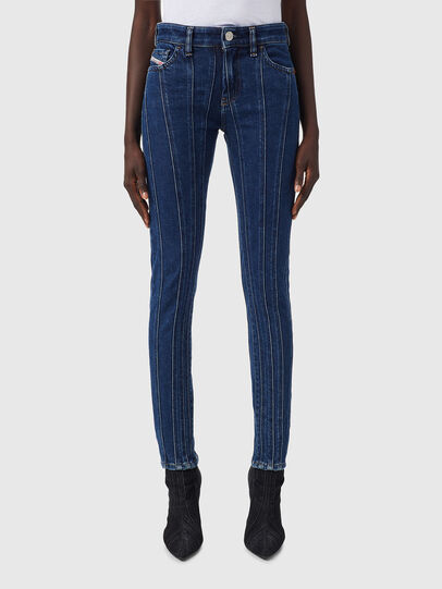 Diesel - Slandy 09B10, Medium blue - Jeans - Image 1