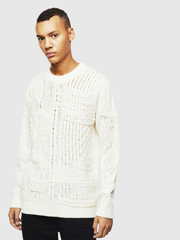 K-BRIGLY, White - Knitwear