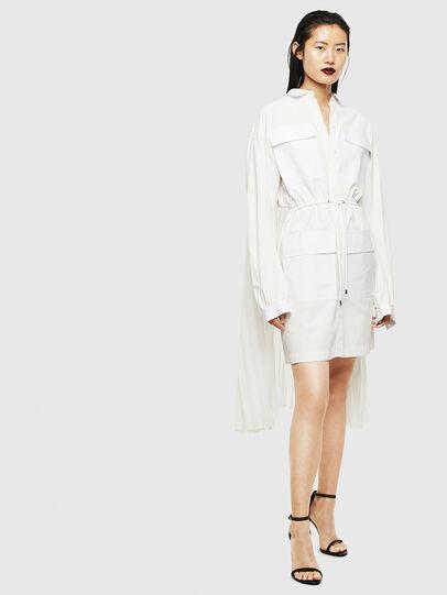 Diesel - D-TEAR, White - Dresses - Image 7