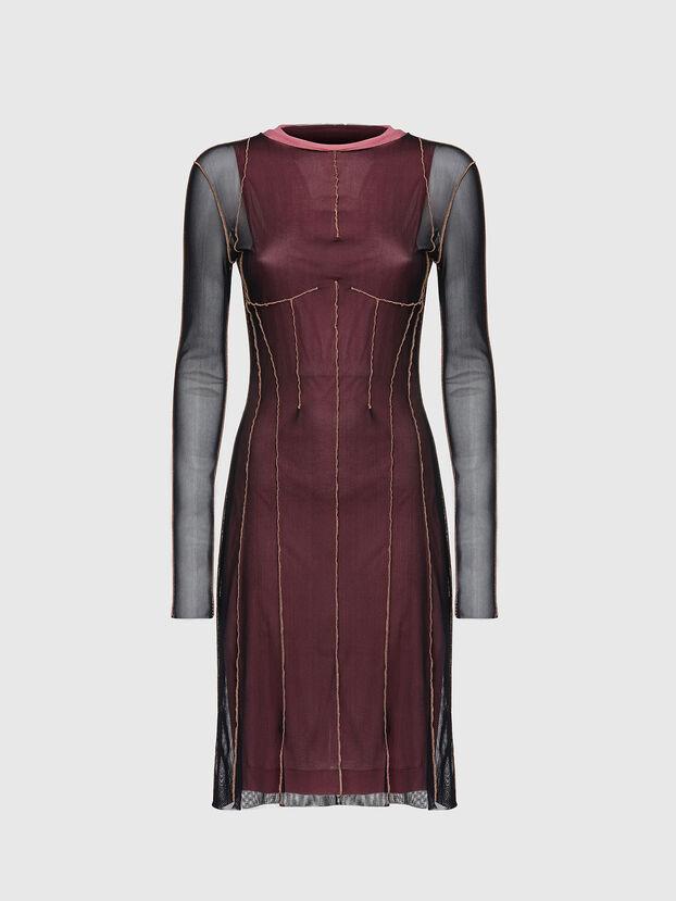 D-VINA, Black/Pink - Dresses