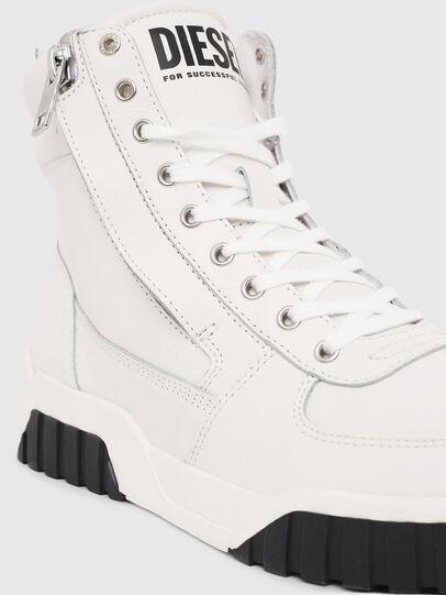 Diesel - S-RUA MID, White - Sneakers - Image 4