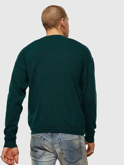 Diesel - K-LETO, Dark Green - Knitwear - Image 2