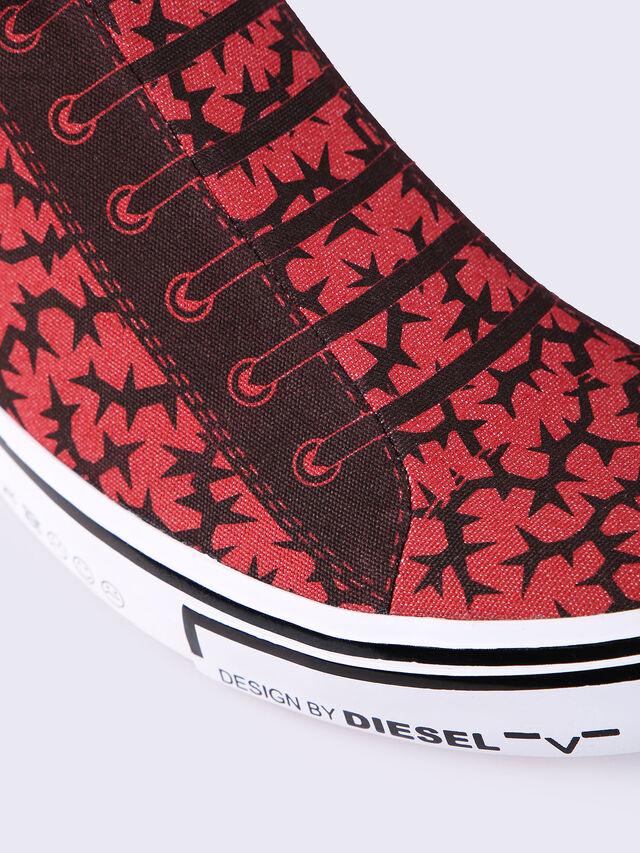 S-DIESEL IMAGINEE LOW SLIP-ON, Red