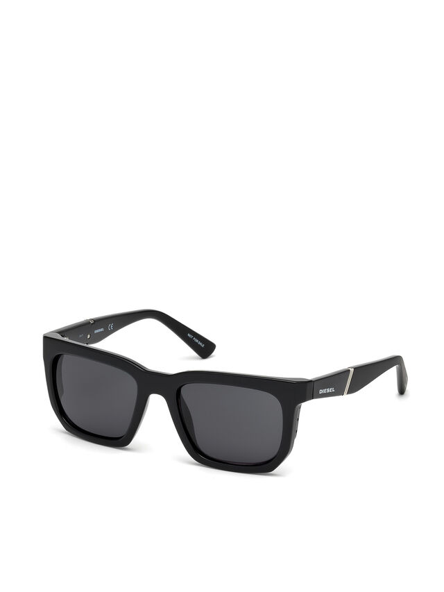 Diesel DL0254, Black - Eyewear - Image 4
