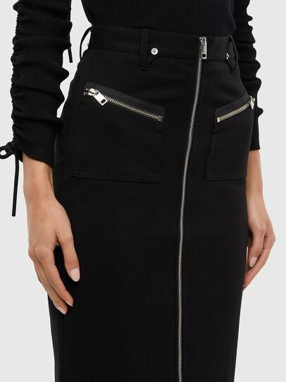 Diesel - O-SIA, Black - Skirts - Image 3