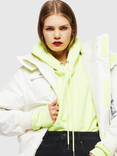 Diesel - W-OKSO, White - Winter Jackets - Image 5