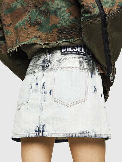 Diesel - DE-JODY-R, Light Blue - Skirts - Image 2