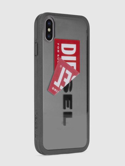 Diesel - STICKER IPHONE X CASE, Black - Cases - Image 4
