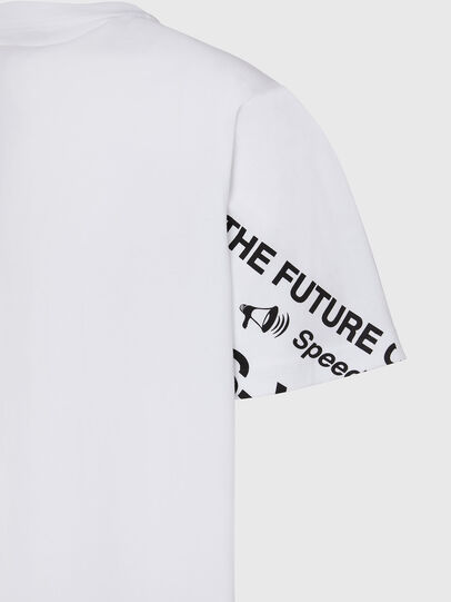 Diesel - T-JUST-FOLDED, White - T-Shirts - Image 4