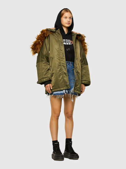 Diesel - W-FLORES, Military Green - Winter Jackets - Image 6