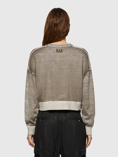 Diesel - M-CALIFORNIA, Light Grey - Knitwear - Image 2