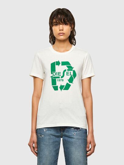 Diesel - T-SILY-V32, White - T-Shirts - Image 1