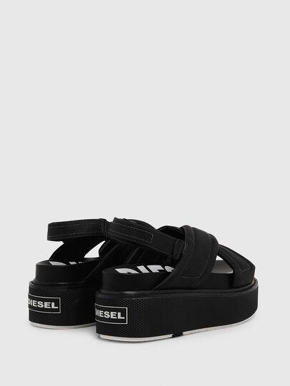 Diesel - SA-SCIROCCO XR, Black - Sandals - Image 3