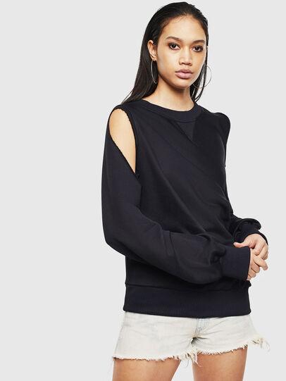 Diesel - F-INVERT, Black - Sweaters - Image 1