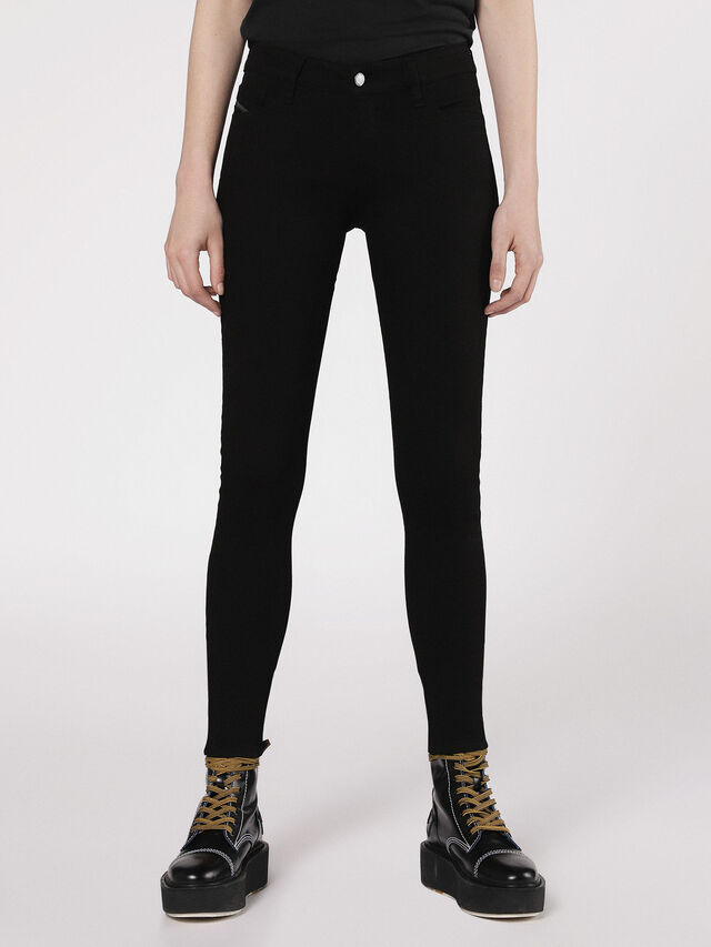 Diesel - Slandy 0860S, Black/Dark grey - Jeans - Image 1