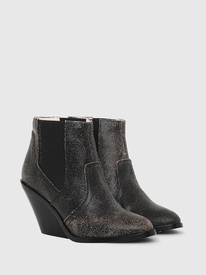 Diesel - D-FLAMINGO CB, Anthracite - Ankle Boots - Image 2