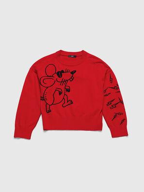 CL-M-TESS, Red - Knitwear