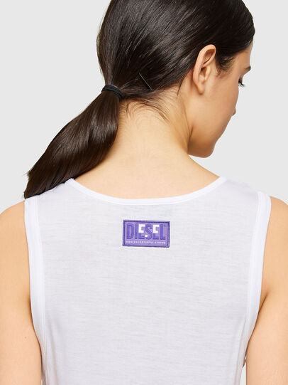Diesel - T-ANK-A1, White - T-Shirts - Image 3