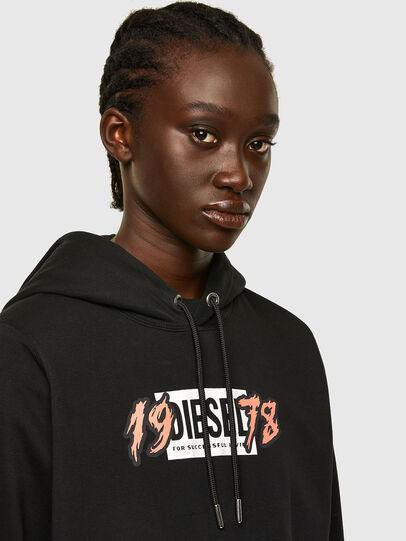 Diesel - F-ANG-HOOD-K22, Black - Sweaters - Image 3
