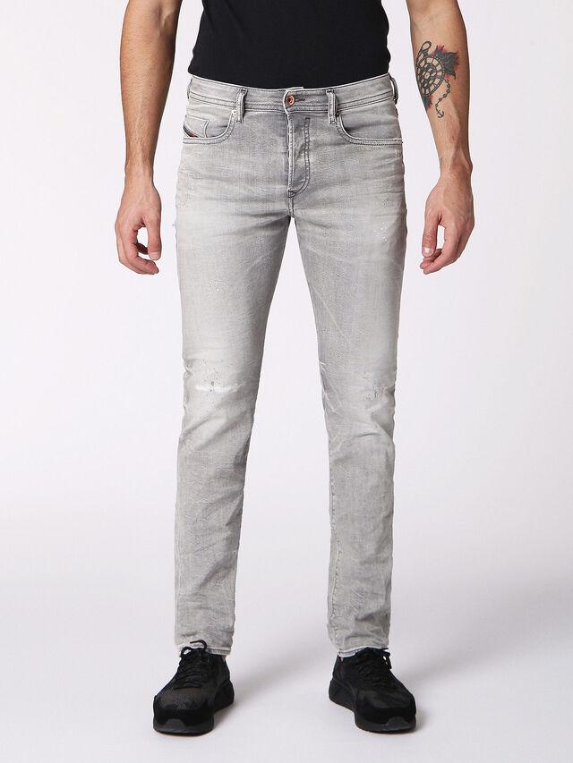 Diesel - BUSTER 0699J, Light Grey - Jeans - Image 1