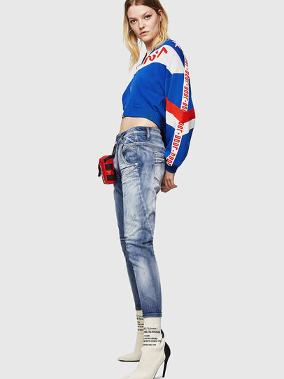 Diesel - Fayza JoggJeans 0870N, Medium blue - Jeans - Image 4
