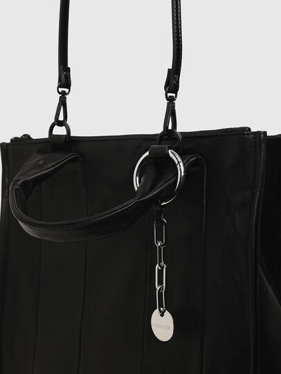 Diesel - HAUNYA, Black - Shopping and Shoulder Bags - Image 7