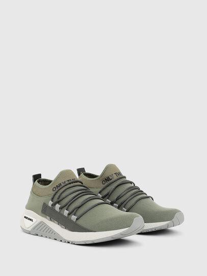Diesel - S-KB SLG, Olive Green - Sneakers - Image 3