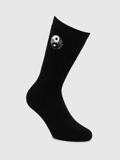 Diesel - SKM-RAY, Black - Socks - Image 1