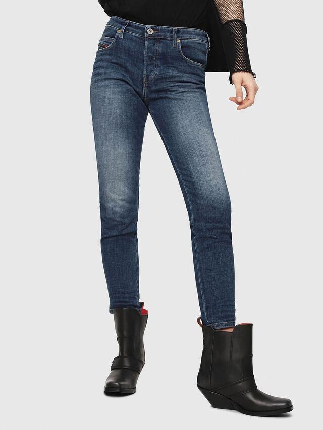 Diesel - Babhila 081AI, Medium blue - Jeans - Image 1