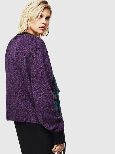 Diesel - M-TARTANN, Violet - Knitwear - Image 2