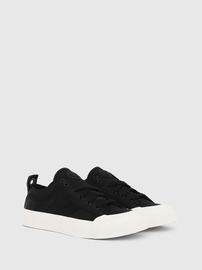 Diesel - S-ASTICO LOW LACE W, Black - Sneakers - Image 2