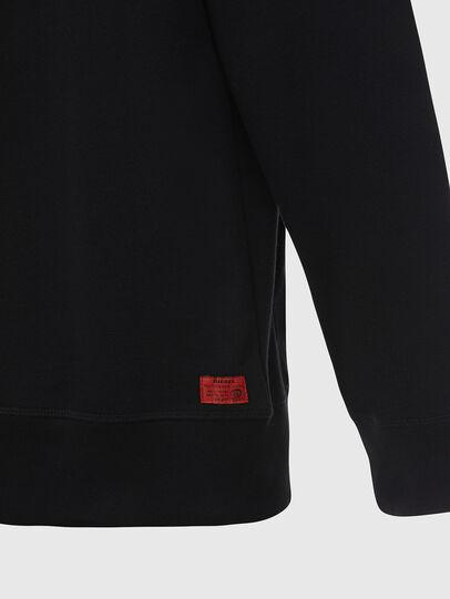 Diesel - UMLT-BRANDON-Z, Black - Sweaters - Image 4