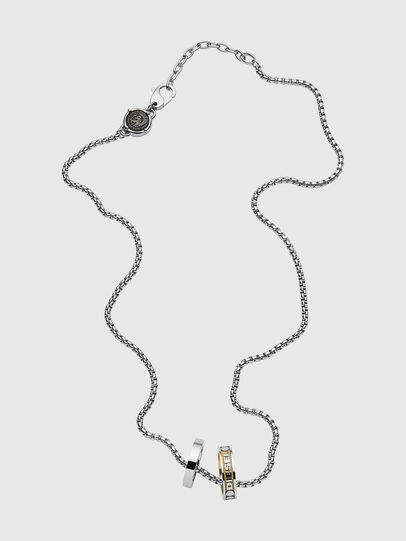 Diesel - DX1233, Silver - Necklaces - Image 1