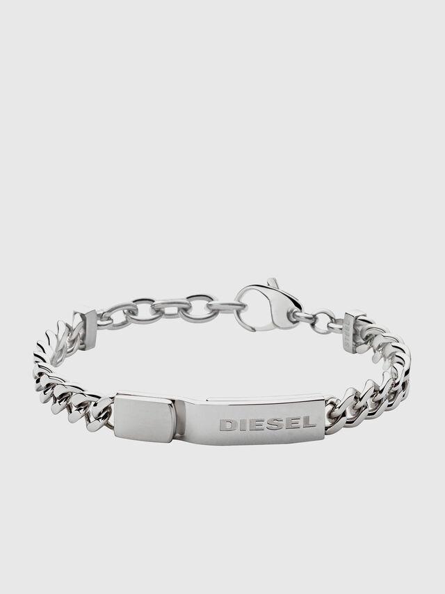 Diesel - DX0966, Silver - Bracelets - Image 1