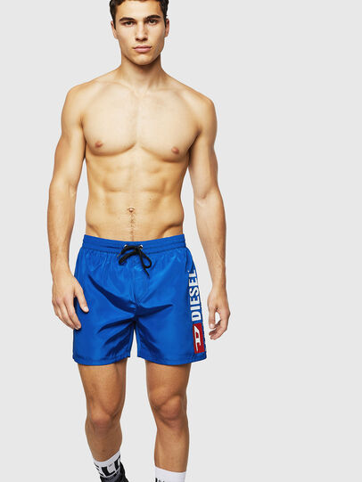 Diesel - BMBX-WAVE 2.017, Brilliant Blue - Swim shorts - Image 4