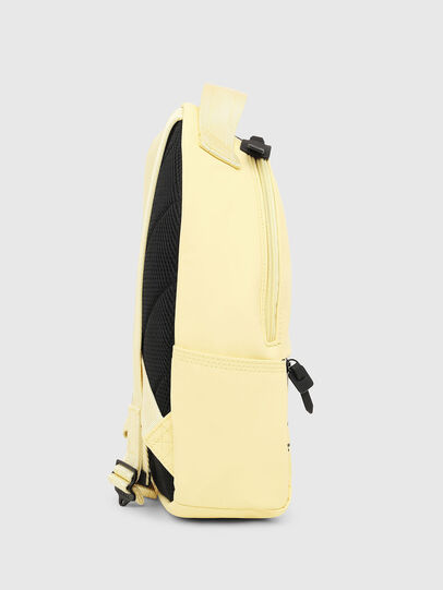 Diesel - F-BOLD BACK FL, Light Yellow - Backpacks - Image 3