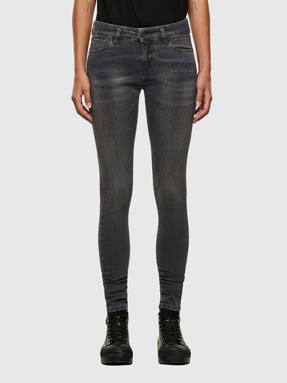 Diesel - Slandy 069MY, Black/Dark grey - Jeans - Image 1